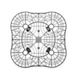 Оригинал Propeller Props Guard Полностью защитная крышка клетки для DJI SPARK RC Дрон Квадрокоптер