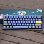 Оригинал AkkoDuckyOne2МиниCherry MX Переключатель PBT Keycap 60% Механический Клавиатура