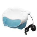 Оригинал USB 1.5L Автоматическая Ultra Бесшумный Pet Собака Кот Чаша для подачи воды Чаша для питьевой воды C Night Light