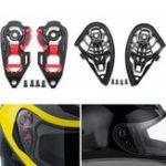 Оригинал Мотоциклетный шлем Visor Shield Gear Пластина Набор для AGV K1 K3SV K5 / K3 K4