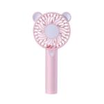 Оригинал Well Star WT-016 Little Bear Мини-USB-вентилятор с легким режимом Colorful Ручной небольшой вентилятор Портативный воздушный охладитель Бесшумный Вентилят