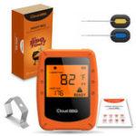 Оригинал Беспроводное интеллектуальное мясо Термометр 2 зонда Bluetooth / WiFi для IOS Android Digital Термометр