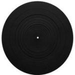 Оригинал 12 дюймов LP Виниловая пластинка Силиконовый Pad Плоская противоударная бас-гитара Clear For Turntable Фонограф Мат Pad