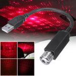 Оригинал LED Авто Интерьер Атмосфера Потолок Night Star Light Лампа Гибкая труба Крыша Украшение USB-порт