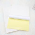 Оригинал JS JS-A4P 100 листов / лот А4 Самоклеящаяся наклейка для печати Бумага А4 Белая пустая наклейка Бумага для этикеток Бумага для принтера