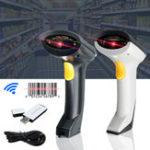 Оригинал LEORY Портативный Беспроводной Сканер Штрих-Кода Ручной USB Лазер Сканирование 2,4 ГГц Считыватель Штрих-Кода