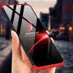 Оригинал Bakeey™3в1,двойное погружение, 360 °, полный чехол, жесткий ПК, ударопрочный защитный материал Чехол для Huawei P30