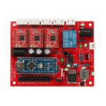 Оригинал Оригинал 3018 CNC Router 3 Оси Плата Управления GRBL USB Stepper Мотор Драйвер DIY Лазер Гравер Фрезерный Гравировальный Станок Контроллер