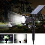 Оригинал На солнечных батареях 7 LED PIR Motion Датчик Газонный свет На открытом воздухе Водонепроницаемы Двор Настенный пейзаж Лампа