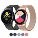 Оригинал Bakeey Milanese Часы из нержавеющей стали Стандарты для Samsung Galaxy Watch Active