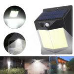 Оригинал 96 COB Солнечная Power Light PIR Motion Датчик Безопасность На открытом воздухе Сад Стена Лампа