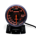 Оригинал 12V 2.5inch 60MM Авто Auto Racing LED Turbo Boost Манометр вакуумметр