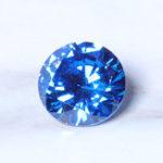 Оригинал 8 мм 3.25 карат синего сапфира круглой ограненной формы AAAAA VVS свободные украшения из драгоценных камней