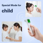 Оригинал KCASA Baby Инфракрасный цифровой Термометр LCD Измерение тела Лихорадка тела IR Лоб Уши Бесконтактный Для взрослых Дети Термометр