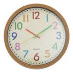 Оригинал Silent Non-Ticking Quartz Kid Wall Часы Декоративный внутренний кварцевый аналог Часы