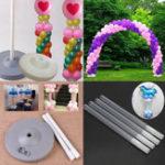 Оригинал Воздушный шар колонка подставка Дисплей Набор Свадебное день рождения украшения игрушки поставки