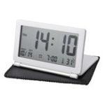 Оригинал Электронная дорожная сигнализация Часы Складной Mute Fashion Портативный температурный хронограф Travel Часы