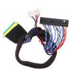 Оригинал 40P 2CH 6-битный LVDS Экран Универсальный LCD Кабель платы водителя для экрана ноутбука LED High Score