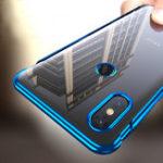 Оригинал Bakeey3В1СъемныйПрозрачный Жесткий Защитный ПК Elac-plaing Чехол Для Xiaomi Mi Mix 3