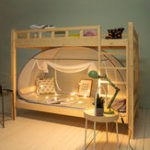 Оригинал XIAOMICOMOLIVINGМоскитныесеткина одну спальню без установки Личная москитная сетка на кровать