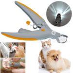 Оригинал Прочная с подсветкой Ногти Триммер Кошки Собаки Машинки для стрижки Grinders Pet Care Инструмент