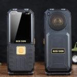 Оригинал H102,4-дюймовый1800мАчPowerBank FM Волшебный Voice 4 SIM-карта 4 Режим ожидания Прочный флип Функция телефона