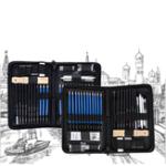 Оригинал HB-TZ60 Профессиональный Эскизный Карандаш для Рисования Набор Carry Сумка Художественная Роспись Инструмент Набор