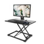 Оригинал Alighttone MD03 Современный Простой Регулируемая Высота Рабочий Стол Sit Stand Двойной Рабочий Стол Складной Офисный Стол Riser Ноутбук Подставка для Н
