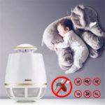 Оригинал REMAX RT-MK02 USB Всасывание Электронная Ошибка насекомых Москитная Ловушка LED Лампа Night Light