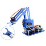 Оригинал Waveshare Raspberry Pi 3B + 3B Board DIY 4DOF Металлический робот-манипулятор с цифровыми сервоприводами