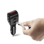 Оригинал A01 Mini Авто Bluetooth 5.0 + EDR Hands-free Digital Дисплей Зарядное устройство Авто