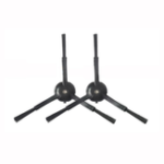 Оригинал 2шт черная сторона Кисти для Ilife V3s V5s CEN550 CEN663 Пылесос Аксессуары Запасные комплекты