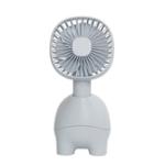 Оригинал MUID Pet Fan Перезаряжаемый портативный ручной вентилятор Mute Cooling