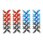 Оригинал 10 пар KINGKONG / LDARC 1545 40-миллиметровый 4-лопастный пропеллер 1,0-миллиметровый концентратор для TINY 7 7X Snapper7 Mobula7 RC Дрон