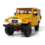 Оригинал WPLC341/16Набор4WD2.4G Buggy Crawler Off Road RC Авто 2CH Toy Metal Edition