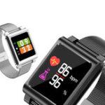 Оригинал BakeeyK8IPSБраслетдляплавания с цветным экраном Сердце Оценить Монитор Caller ID Показать Smart Watch