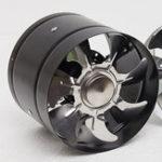 Оригинал 6Inch Inline Duct Fan Boost Выпускной вентилятор Вентиляционное охлаждение Металл Лопасти
