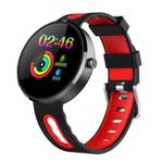 Оригинал BakeeyDM78PlusСтальнаярамкаСердцеОценить менструальный цикл Сообщение Call Напоминание Будильник Smart Watch