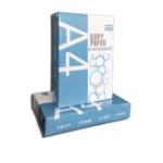 Оригинал JIAYINBAO JYB70 100 листов 500 г A4 Бумага для копировального оборудования из цельной древесины Печать на белой бумаге Черновая бумага Бумага для при