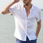 Оригинал Comfy Cotton Breathable Plus Размер Простые летние повседневные рубашки