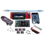 Оригинал  LCD 2004 Дисплей + Ramps 1.6 Плата управления + Mega2560 R3 Плата + 5Pcs DRV8825 Драйвер DIY 3D-принтер Основная плата Набор