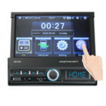 Оригинал  7 дюймов 1 DIN Авто Стерео Радио Сенсорный экран MP5-плеер Bluetooth FM USB AUX In Dash