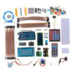Оригинал MEGA 2560 Project Starter Kit с LCD1602 Сервопривод Мотор Ультразвуковой Датчик Для Arduino