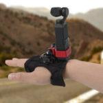 Оригинал Sunnylife OSMO Pocket Gimbal Кронштейн расширения с ремешком на запястье Ручной фиксированный держатель Adatper Регулируемый эластичный бандаж для DJI GoPro
