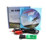 Оригинал 22 In 1 2.4G Wireless USB Flight Simulator Поддерживает G7.5 G6.5 G2 Phoenix 5.5 XTR FMS для RC Дрон Квадрокоптер Самолет