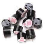 Оригинал 100 шт. 3 В Active Зуммер Электромагнитный SOT Пластиковые герметичные Трубка Длинный Звук 12 мм х 9.5 мм