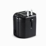 Оригинал Универсальный адаптер для путешествий TOTU 2.4A «2 в одном» 2 порта USB – универсальный адаптер переменного тока Универсальный адаптер для США / Е