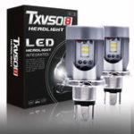 Оригинал Txvso8 Авто LED Лампы головного света High Low Combo Beam Лампа H4 / HB2 / 9003 50W 8500LM 6000K 2PCS