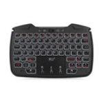 Оригинал Rii RT707 2 в 1 беспроводной игровой контроллер с подсветкой 2,4 ГГц Геймпад Mini Клавиатура Тачпад Air Мышь Airmouse Combo