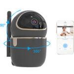 Оригинал WIFI Wireless HD 1080P IP камера Ночное видение Motion Датчик PTZ Двухсторонняя внутренняя безопасность камера